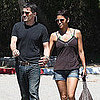 Pictures of Halle Berry and Olivier Martinez in Malibu