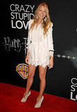 Blake Lively showed off her gams and sweet, Spring lace (from Dolce and Gabbana) on the red carpet.