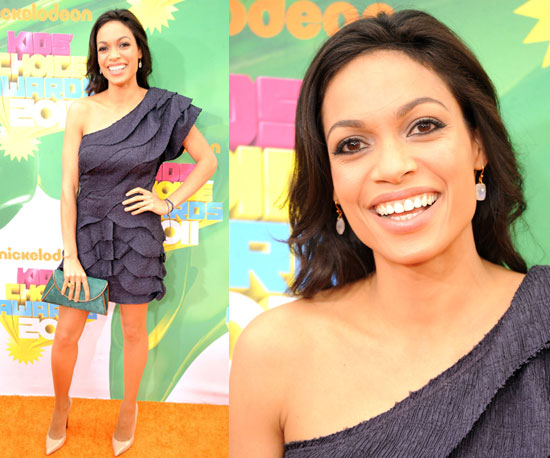 Rosario Dawson at the Kids' Choice Awards 2011