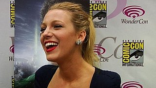 Blake Lively Talks Green Lantern at WonderCon