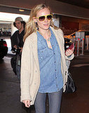 Gisele Bundchen and Diane Kruger Bump Into Each Other at LAX!