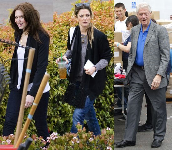 Drew Barrymore Teams Up With Mandy Moore and President Clinton For a Charitable Initiative