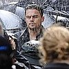 Pictures of Leonardo DiCaprio Shooting a Commercial in Paris