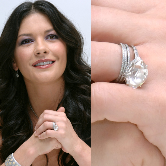Catherine Zeta-Jones's Pretty Diamond