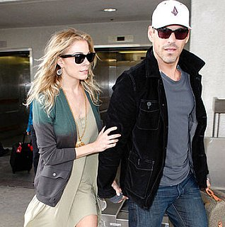 Pictures of LeAnn Rimes and Eddie Cibrian Arriving in LA