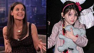 Video: Katie Holmes Talks About Suri's Fifth Birthday on Jimmy Kimmel Live