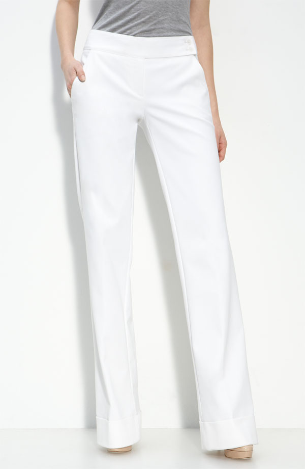 Robert Rodriguez Wide Leg Trousers ($295)