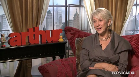 Video: Helen Mirren on Being Terrified to Host SNL and Her Love For Russell Brand