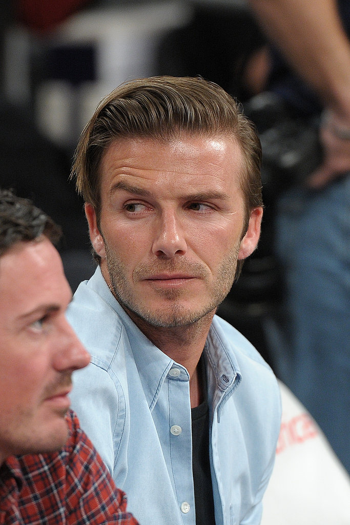 Amy Adams and David Beckham Get Dramatic During Nail-Biting Lakers Loss!