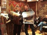 Ben Affleck Poses For Hilarious Photo Op With a Rug Dealer While Scouting Locations Turkey!
