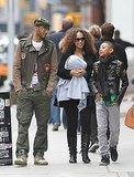 Alicia Keys and Swizz Beatz Bring Baby Egypt and Prince Out in the Big Apple