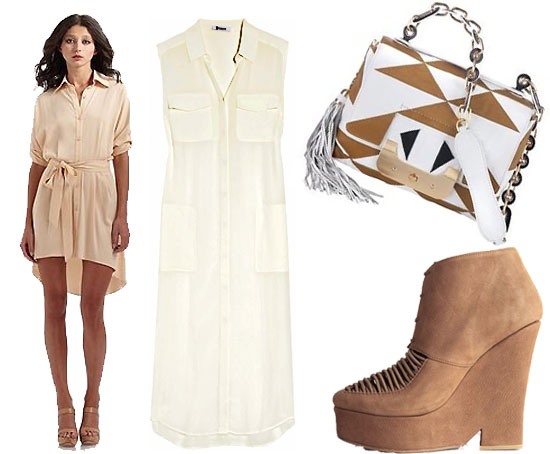 Best Neutral-Colored Clothing/Shopping Picks for Spring 2011