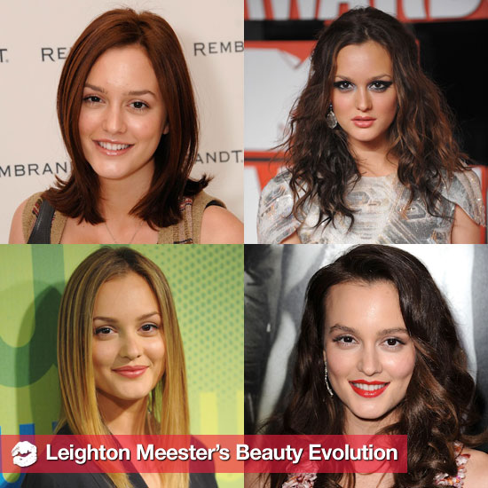 Leighton Meester&#039;s Hair and Makeup Looks Over the Years