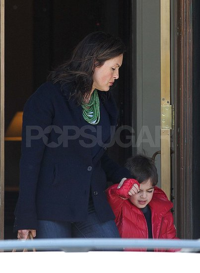 Mariska Hargitay Steps Out With Her New Baby Girl, Amaya!