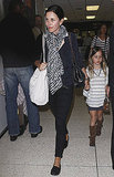 Courteney and Coco Return From a Magical Trip With David
