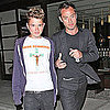 Pictures of Jude Law With Son Rafferty in LA