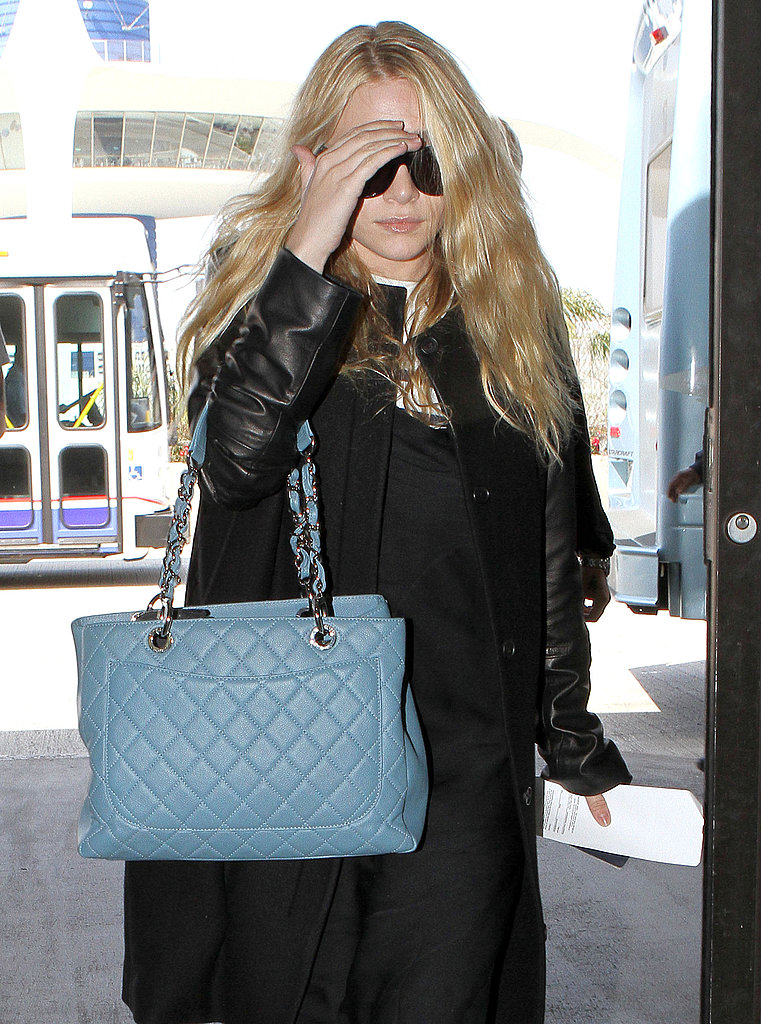 Mary-Kate and Ashley Leave LAX and Announce a New Shopping Venture