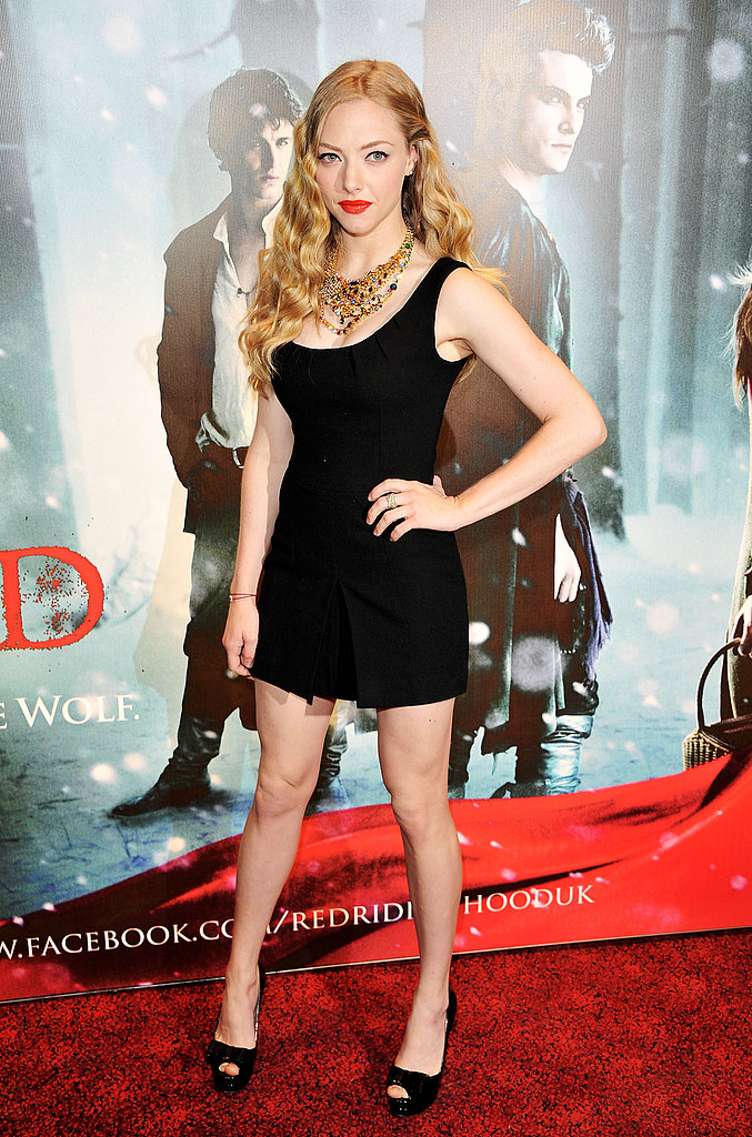 London Rolls Out the Red Carpet For Amanda Seyfried and Her Dark Fairy Tale