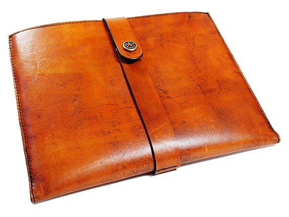 Leather and Felt Case ($75)