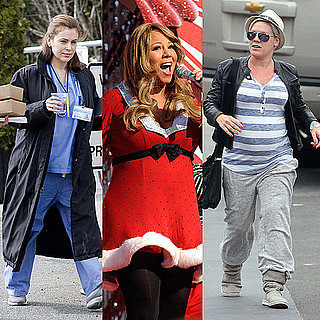 Pictures of Pink, Mariah Carey, and Alyssa Milano Pregnant