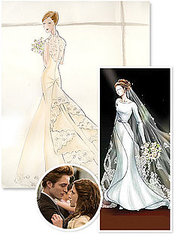 Twilight Wedding Watch: Bellas Wedding Dress Revealed!