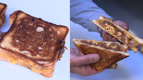 Get the Cheesy Mac and Rib Melt Recipe From LA's Grilled Cheese Truck