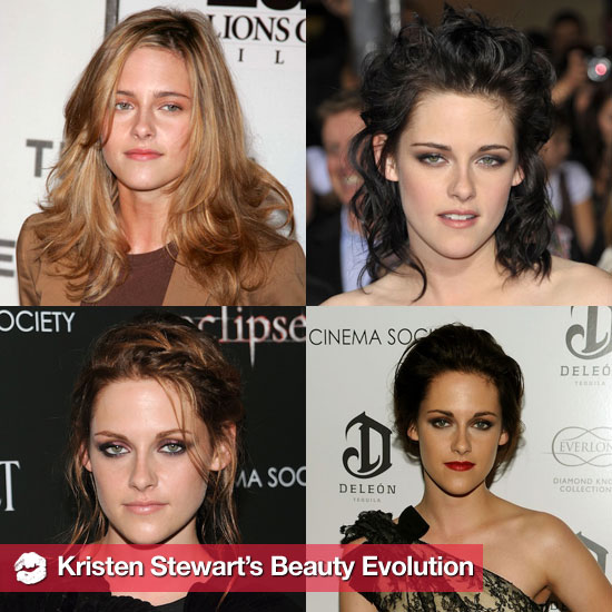 See Kristen Stewart's Beauty Evolution