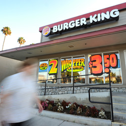 Amidst Falling Sales, Burger King Changes Strategy