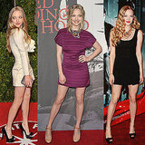 We figured out how Amanda Seyfried pulls off a minidress.