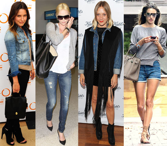 Fab's Top 10 Celebrity Looks of the Week — Celebs Do Denim and Beyond!