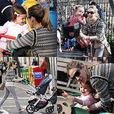 Sarah Jessica Parker Pictures With Twins Marion and Tabitha