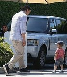 Tom Brady Takes His Big Boy Ben Out to Lunch