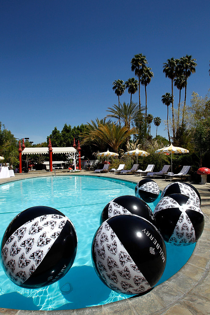 The perfect pool party isn't complete without pool toys, Mulberry style.