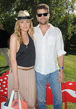Styled couple Diane Kruger and Joshua Jackson made the perfect pair at Lacoste's Coachella shindig.
