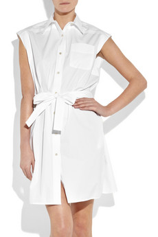 Chloe Cotton-Poplin Shirt Dress ($1,340)
