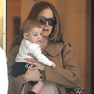 Pictures of Kelly Preston With Baby Benjamin Travolta
