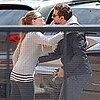 Pictures of Bradley Cooper Meeting Woman in LA