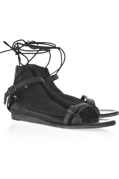 LD Tuttle The Crop Leather Sandals ($445)