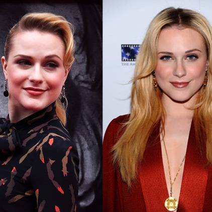 Evan Rachel Wood Switches Up Her Hairstyle at The Conspirator Premieres