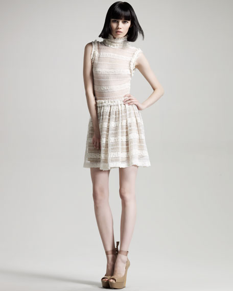 Opening Ceremony Mock Neck Dress ($518)