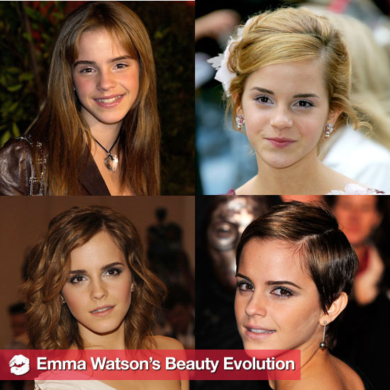 See Emma Watson's Beauty Looks Over the Years