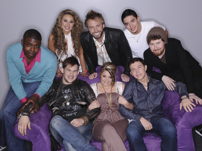 American Idol: The Top 8 Take On Movie Night