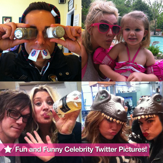 Jamie Lynn Spears, Zachary Levi, Miley Cyrus, and More in This Week's Fun and Funny Celebrity Twitter Pictures!