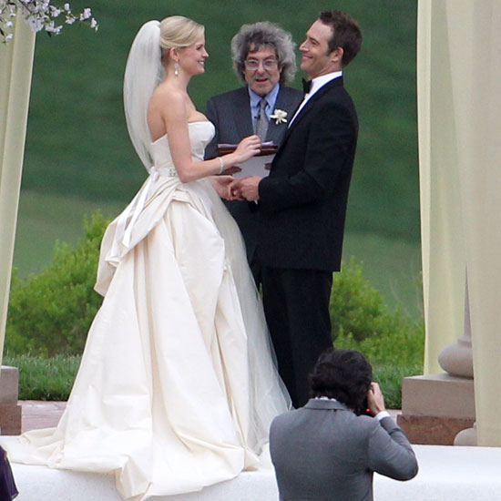 Michael Vartan and Lauren Sklar said their vows at Pelican Hill resort in Newport Beach, CA, in April 2011.