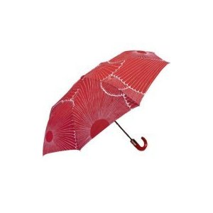 The deep red and floral print of this Marimekko umbrella ($30) is gorgeous.