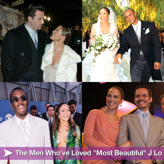 "Men Who've Loved ""Most Beautiful"" J Lo"