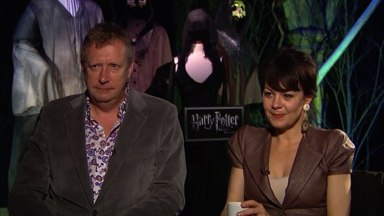 Video: Harry Potter's Helen McCrory and Mark Williams On Wizard Parenting