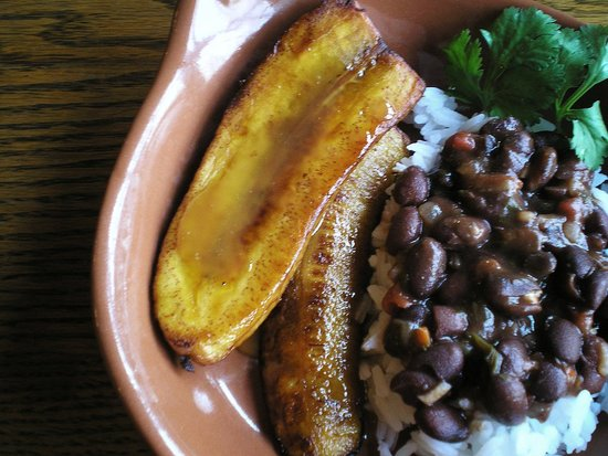 Fried Plantains with Brown Sugar Rum Glaze