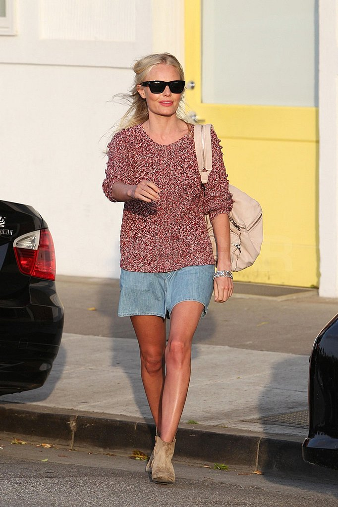 Kate Bosworth Returns Home With a Gorgeous Glow Following Her Topless Romp on the Beach!