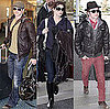 Pictures of Kellan Lutz and Ashley Green Leaving Vancouver
